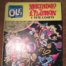 Tebeos: COMIC DE MORTADELO Y FILEMON Y TETE COHETE EN EL CACAO ESPACIAL DEL AÑO 1985 Nº 304. Lote 222094937
