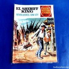 Tebeos: EL SHERIFF KING Nº 59, REVOLVERES SIN LEY-1973. Lote 222117358
