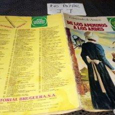 Tebeos: JOYAS LITERARIAS JUVENILES DE LOS APENINOS A LOS ANDES VER FOTOS ESTADO 75. Lote 222145148