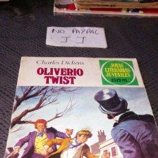 Tebeos: JOYAS LITERARIAS JUVENILES OLIVERO OLIVER TWIST 70. Lote 222145238