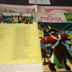 Tebeos: VER FOTOS NECESITA REPARACIÓN 2 EDICIÓN 1974 JOYAS LITERARIAS JUVENILES EL PIRATA 6. Lote 222145673