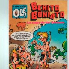 Livros de Banda Desenhada: COLECCION OLE Nº 2 BENITO BONIATO. LA SAGA DE LOS BONIATO. 1ª ED. 1984. Lote 222151846