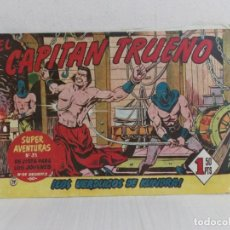 Tebeos: COMIC COLECCION CAPITAN TRUENO ---N0 79 EDICION 1 -EDITORIAL BRUGUERA--1,50 PTS. Lote 222201475
