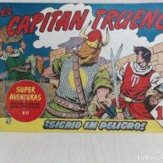 Tebeos: COMIC COLECCION CAPITAN TRUENO ---N0 67- EDICION 1 -EDITORIAL BRUGUERA--1,50 PTS-ESTADO BUENO-. Lote 222202326
