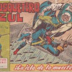 Tebeos: EL MOSQUETERO AZUL Nº 25: LA ISLA DE LA MUERTE. Lote 210664601