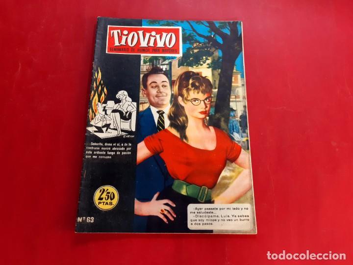 TIO VIVO Nº 63 -PRIMERA EPOCA -BUEN ESTADO (Tebeos y Comics - Bruguera - Tio Vivo)