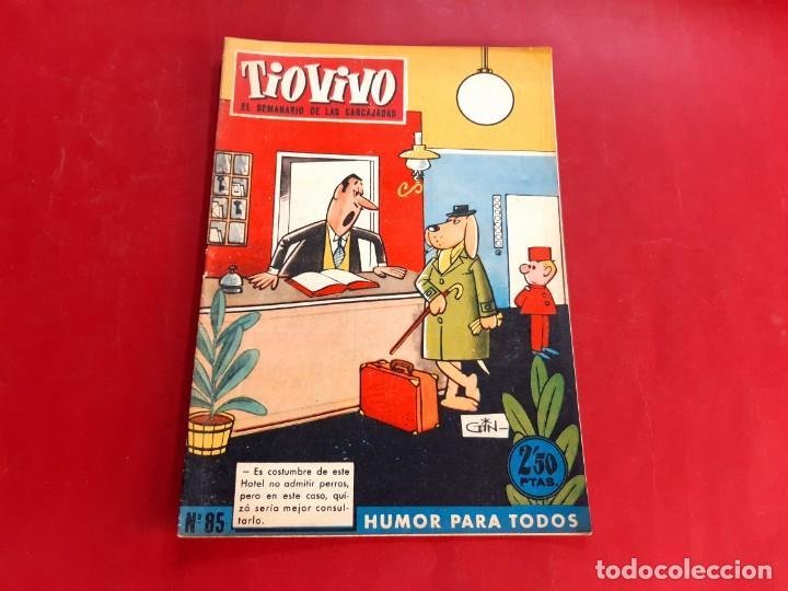 TIO VIVO Nº 85 -PRIMERA EPOCA -BUEN ESTADO (Tebeos y Comics - Bruguera - Tio Vivo)