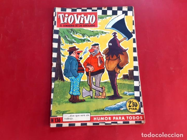 TIO VIVO Nº 136 -PRIMERA EPOCA -BUEN ESTADO (Tebeos y Comics - Bruguera - Tio Vivo)