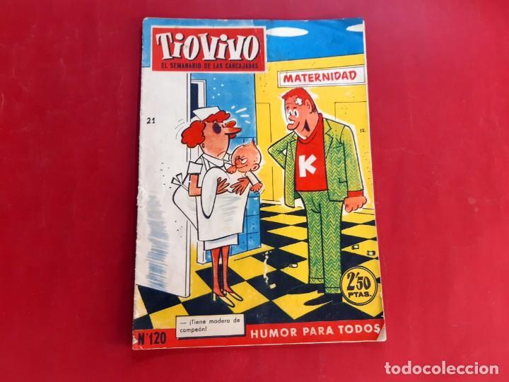TIO VIVO Nº 120 -PRIMERA EPOCA -BUEN ESTADO (Tebeos y Comics - Bruguera - Tio Vivo)