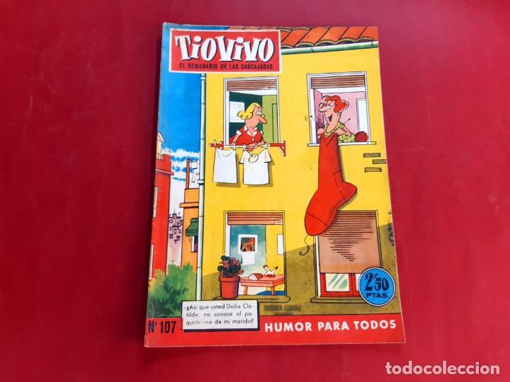 TIO VIVO Nº 107 -PRIMERA EPOCA -BUEN ESTADO (Tebeos y Comics - Bruguera - Tio Vivo)