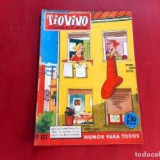 Tebeos: TIO VIVO Nº 107 -PRIMERA EPOCA -BUEN ESTADO. Lote 222232333