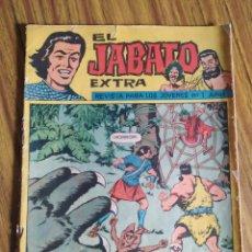 Tebeos: EL JABATO EXTRA, 1, LA AMENAZA DE LA ARAÑA. ORIGINAL DE BRUGUERA (1962). Lote 222232376