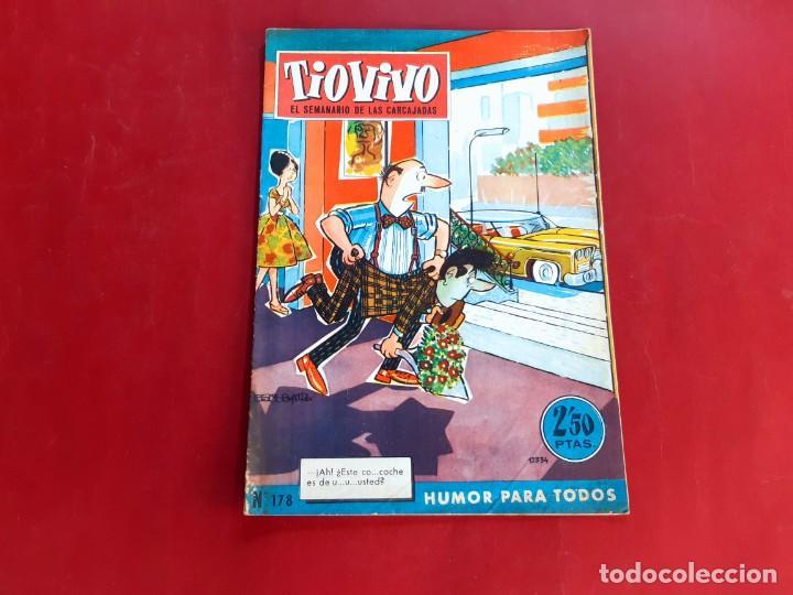 TIO VIVO Nº 178 -PRIMERA EPOCA -BUEN ESTADO (Tebeos y Comics - Bruguera - Tio Vivo)