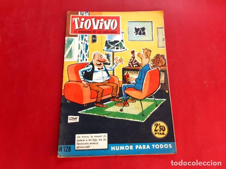 TIO VIVO Nº 128 -PRIMERA EPOCA -BUEN ESTADO (Tebeos y Comics - Bruguera - Tio Vivo)