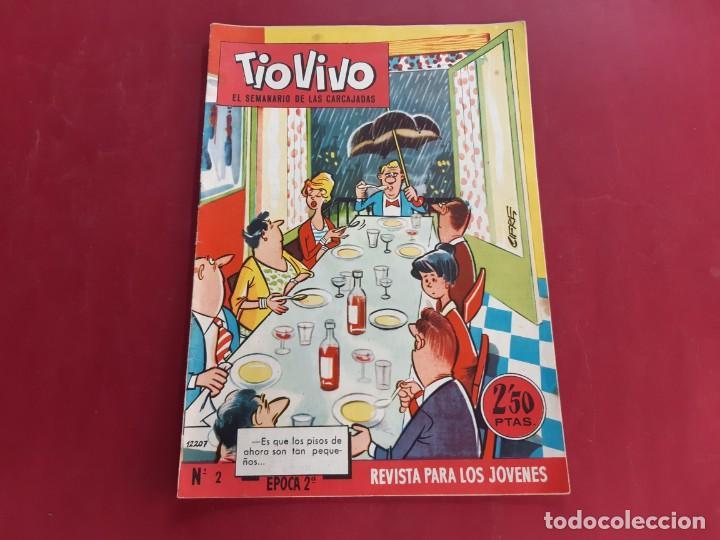 TIO VIVO Nº 2 -SEGUNDA EPOCA -BUEN ESTADO (Tebeos y Comics - Bruguera - Tio Vivo)