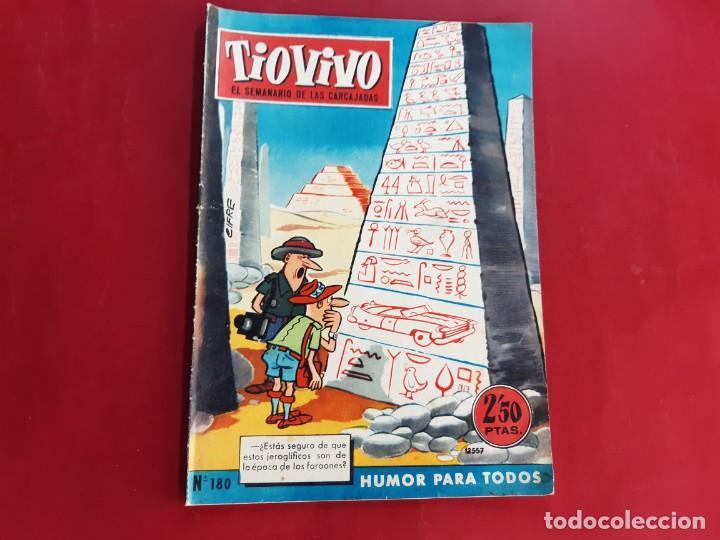 TIO VIVO Nº 180 PRIMERA EPOCA -BUEN ESTADO (Tebeos y Comics - Bruguera - Tio Vivo)