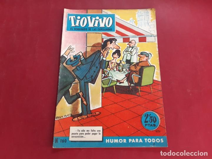 TIO VIVO Nº 160 PRIMERA EPOCA -BUEN ESTADO (Tebeos y Comics - Bruguera - Tio Vivo)