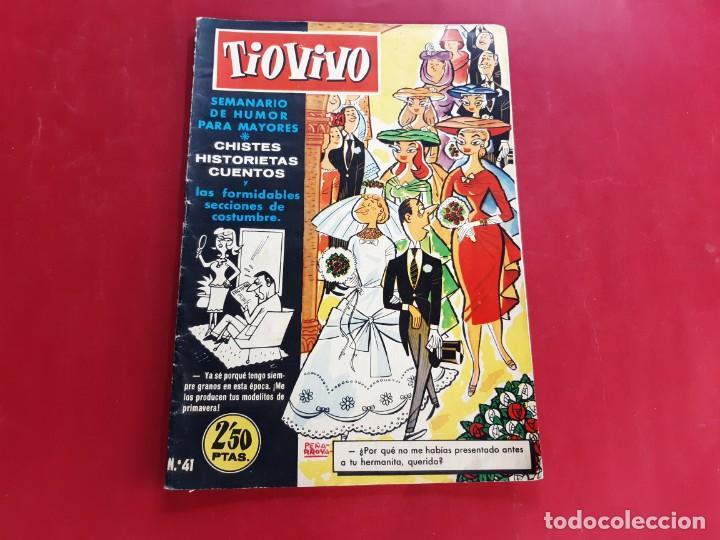 TIO VIVO Nº 41 PRIMERA EPOCA -BUEN ESTADO (Tebeos y Comics - Bruguera - Tio Vivo)