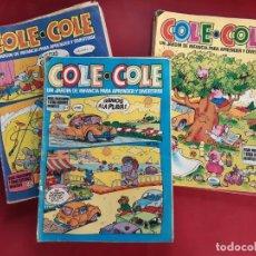 Tebeos: COLE COLE -LOTE DE 25 TEBEOS -VER NUMERACION-BRUGUERA. Lote 222235121