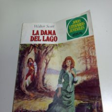 Tebeos: LA DAMA DEL LAGO, WALTER SCOTT. JOYAS LITERARIAS JUVENILES DE EDICIONES BRUGUERA.. Lote 222261507
