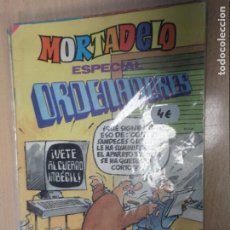 Tebeos: MORTADELO ESPECIAL ORDENADORES - Nº 193 BRUGUERA - 1985. Lote 222298806