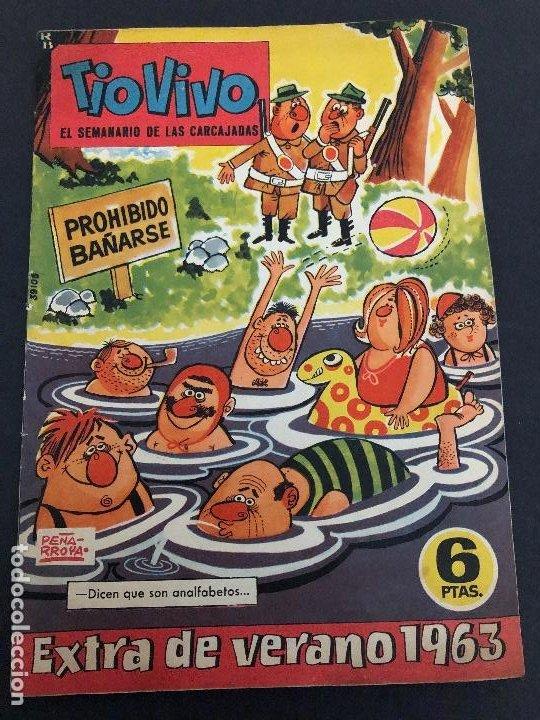 COMIC TIO VIVO EXTRA DE VERANO 1963 EDITORIAL BRUGUERA (Tebeos y Comics - Bruguera - Tio Vivo)