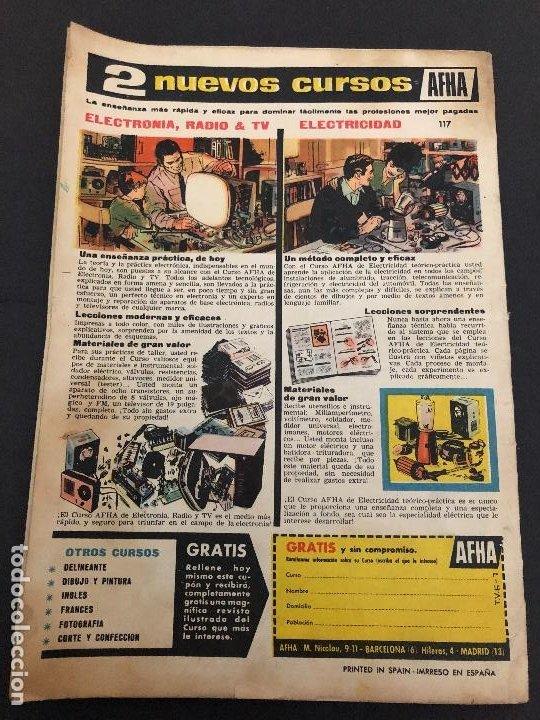 Tebeos: COMIC TIO VIVO EXTRA DE VERANO 1963 EDITORIAL BRUGUERA - Foto 2 - 222323606