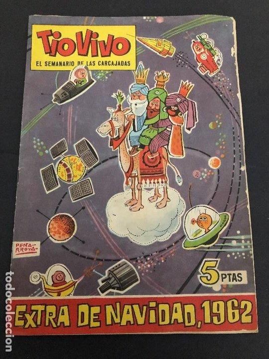 COMIC TIO VIVO EXTRA NAVIDAD 1962 EDITORIAL BRUGUERA (Tebeos y Comics - Bruguera - Tio Vivo)