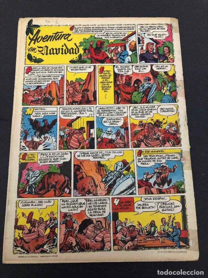 Tebeos: ALMANAQUE ORIGINAL EL CAPITAN TURENO 1959 EDITORIAL BRUGUERA - Foto 2 - 222330305