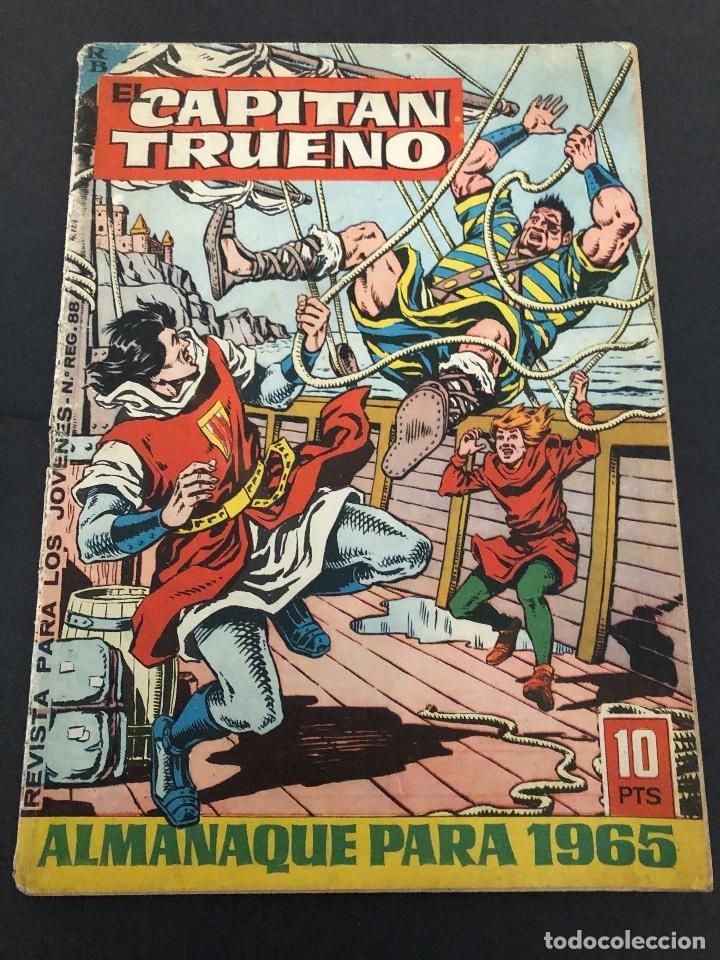 ALMANAQUE ORIGINAL EL CAPITAN TURENO 1965 EDITORIAL BRUGUERA (Tebeos y Comics - Bruguera - Capitán Trueno)