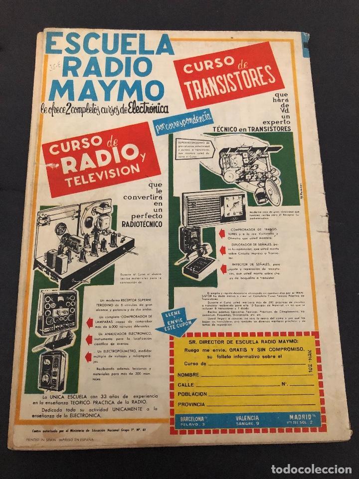 Tebeos: ALMANAQUE ORIGINAL EL CAPITAN TURENO 1965 EDITORIAL BRUGUERA - Foto 2 - 222330601