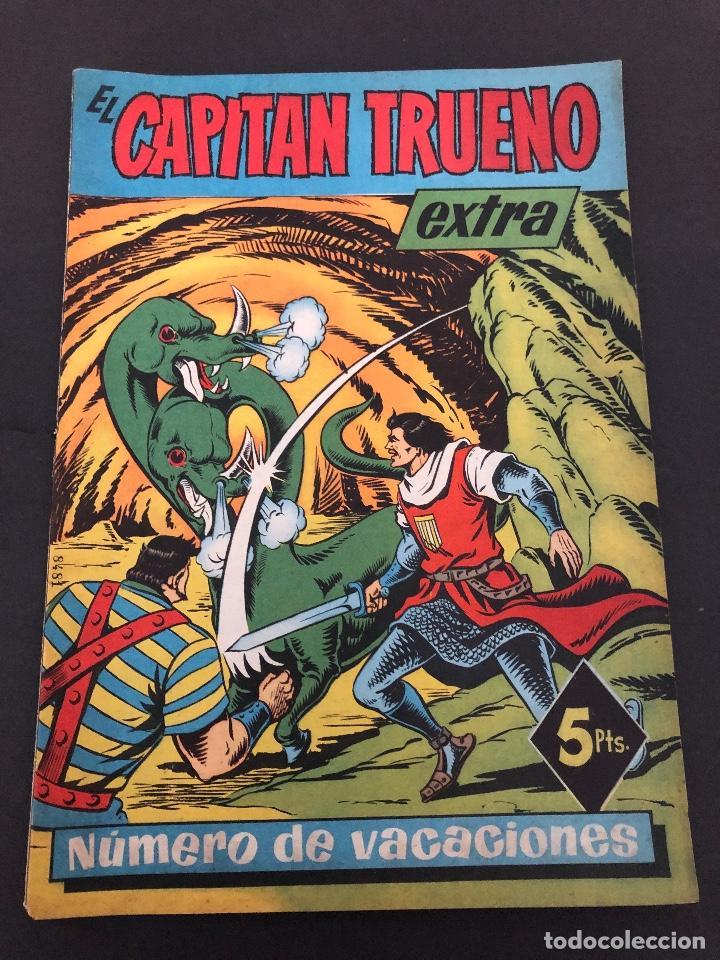 COMIC ORIGINAL EL CAPITAN TURENO EXTRA VACACIONES EDITORIAL BRUGUERA (Tebeos y Comics - Bruguera - Capitán Trueno)
