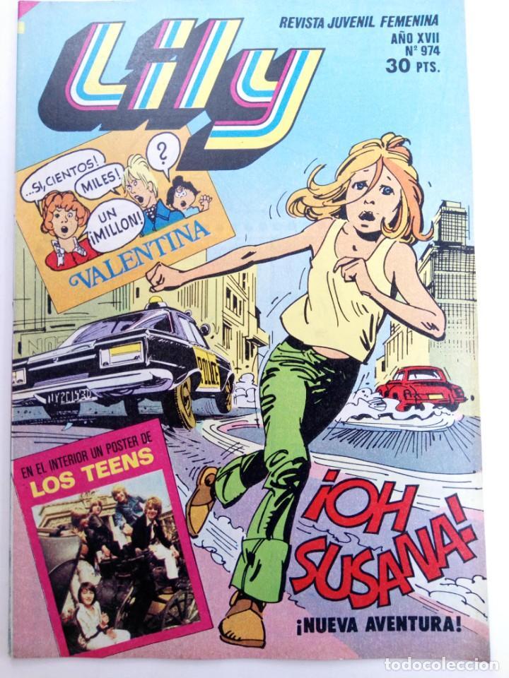LILY Nº 974 (SIN USAR, DE DISTRIBUIDORA) (Tebeos y Comics - Bruguera - Lily)