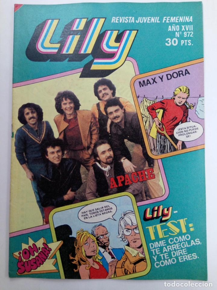 LILY Nº 972 (SIN USAR, DE DISTRIBUIDORA) (Tebeos y Comics - Bruguera - Lily)