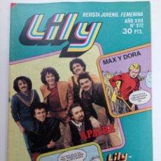 Tebeos: LILY Nº 972 (SIN USAR, DE DISTRIBUIDORA). Lote 222332266