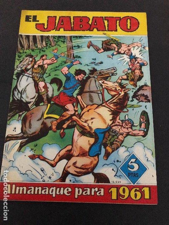 ALMANAQUE ORIGINAL EL JABATO PARA 1961 EDITORIAL BRUGUERA (Tebeos y Comics - Bruguera - Jabato)