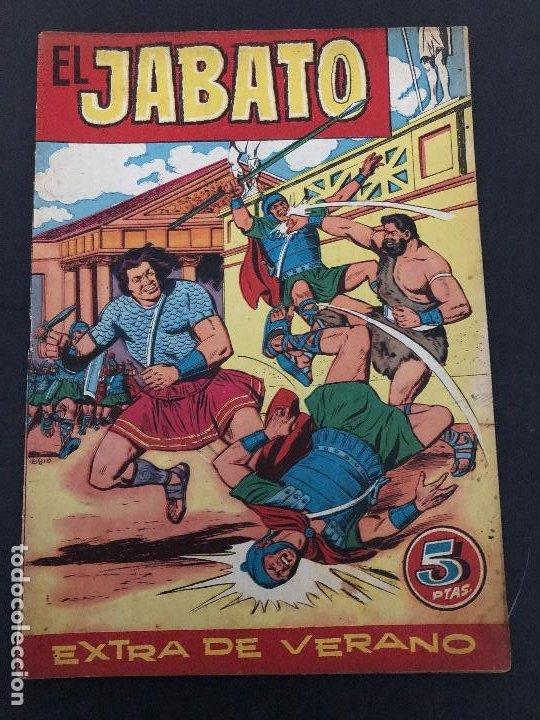 COMIC ORIGINAL EL JABATO EXTRA DE VERANO EDITORIAL BRUGUERA (Tebeos y Comics - Bruguera - Jabato)