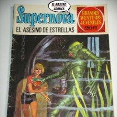 Tebeos: SUPERNOVA Nº 70, EL ASESINO DE ESTRELLAS, ED. BRUGUERA, AÑO 1975, (A) 6D. Lote 222344582