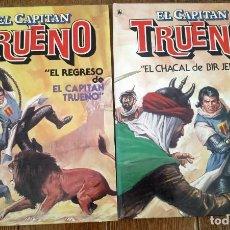 Tebeos: EL REGRESO DEL CAPITÁN TRUENO Y EL CHACAL DE BIR JERARI. COMPLETA. BRUGUERA 1986, 1A EDICION. Lote 222353238