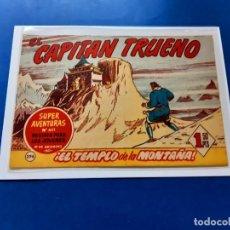 Tebeos: EL CAPITAN TRUENO Nº 296 -ORIGINAL -VER CALIFICACION DEL ESTADO INDIVIDUAL DEL MISMO-. Lote 222356011