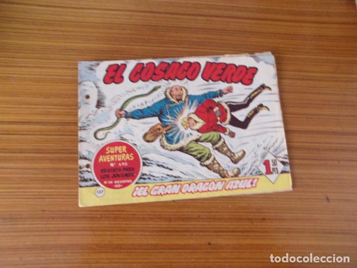 EL COSACO VERDE Nº 137 EDITA BRUGUERA (Tebeos y Comics - Bruguera - Cosaco Verde)