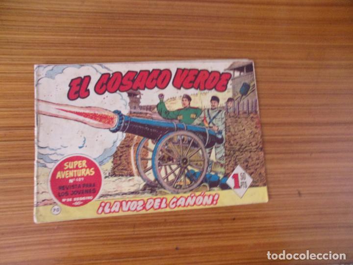 EL COSACO VERDE Nº 70 EDITA BRUGUERA (Tebeos y Comics - Bruguera - Cosaco Verde)