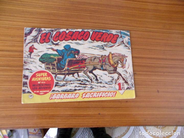 EL COSACO VERDE Nº 59 EDITA BRUGUERA (Tebeos y Comics - Bruguera - Cosaco Verde)