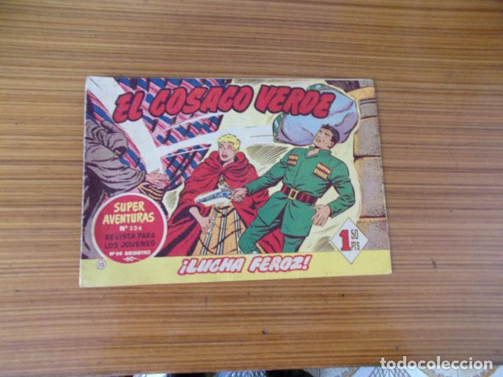 EL COSACO VERDE Nº 15 EDITA BRUGUERA (Tebeos y Comics - Bruguera - Cosaco Verde)