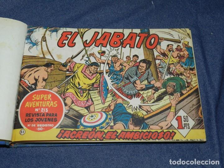 (M11) EL JABATO DEL NÚM. 51 AL NÚM 75, EDT BRUGUERA, ENCUADERNADO (Tebeos y Comics - Bruguera - Jabato)