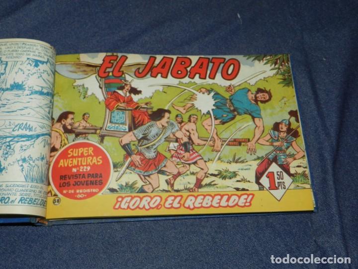 Tebeos: (M11) EL JABATO DEL NÚM. 51 AL NÚM 75, EDT BRUGUERA, ENCUADERNADO - Foto 2 - 222360437