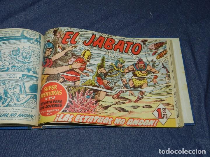 Tebeos: (M11) EL JABATO DEL NÚM. 51 AL NÚM 75, EDT BRUGUERA, ENCUADERNADO - Foto 3 - 222360437