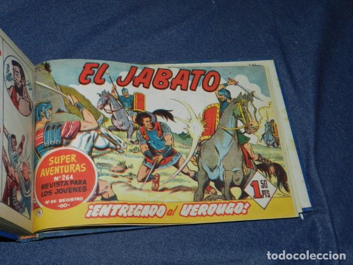 Tebeos: (M11) EL JABATO DEL NÚM. 51 AL NÚM 75, EDT BRUGUERA, ENCUADERNADO - Foto 4 - 222360437