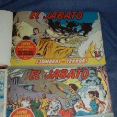 Tebeos: (M11) EL JABATO LOTE DEL NÚM 101 AL NÚM 300, ENCUADERNADO, VER DESCRIPCIÓN, EDT BRUGUERA. Lote 222360975