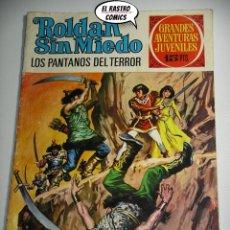 Tebeos: ROLDAN SIN MIEDO Nº 52 LOS PANTANOS DEL TERROR, ED. BRUGUERA, AÑO 1973, 6D. Lote 222369966